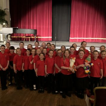 Choir take part in the Guild!